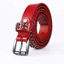 Pin Buckle Genuine Leather Belt For Women