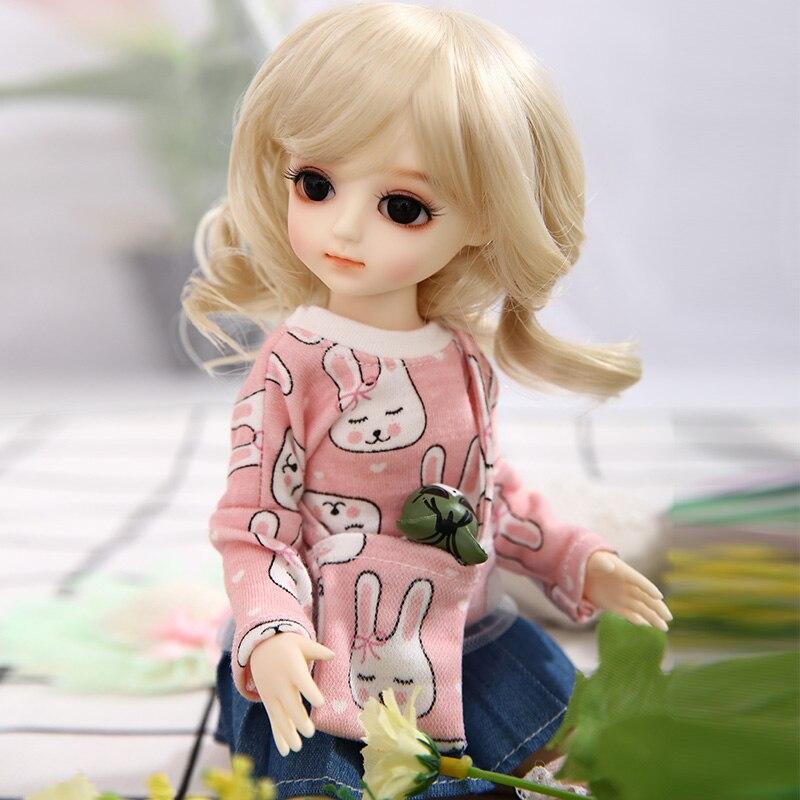 Image 2 - AI Aileen poupée Gaby BJD SD poupées 1/6 corps modèle filles  garçons haute qualité jouets boutique résine chiffres ensemble  completPoupées