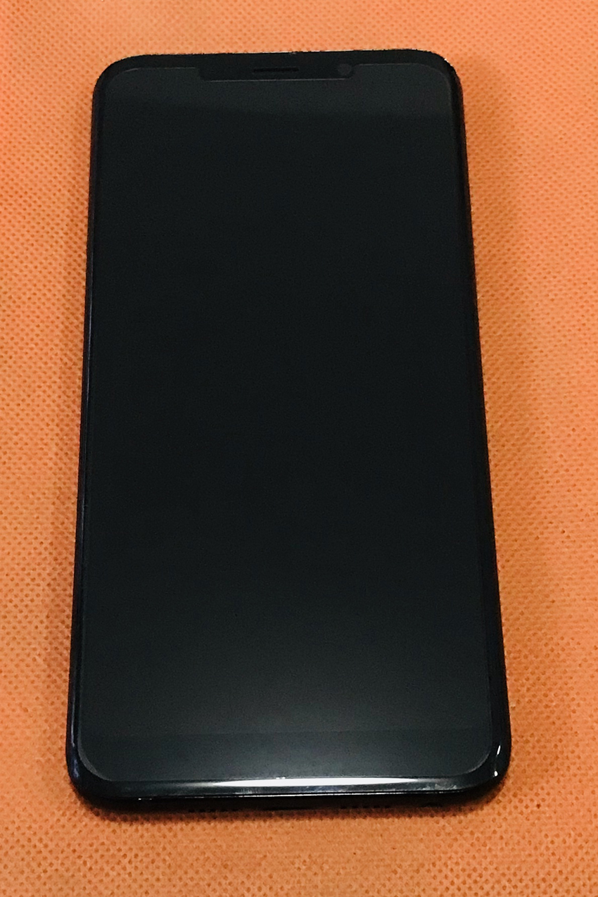 Used Original LCD Display Touch Screen Digitizer Frame for MEIIGOO S8 MTK6750T Octa Core Free shipping