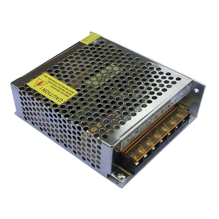 A 1ks Železná skořepina l12V 5A 60W 200-240V NOVINKA Spínaný vypínač Napájecí zdroj pro LED pásová světla