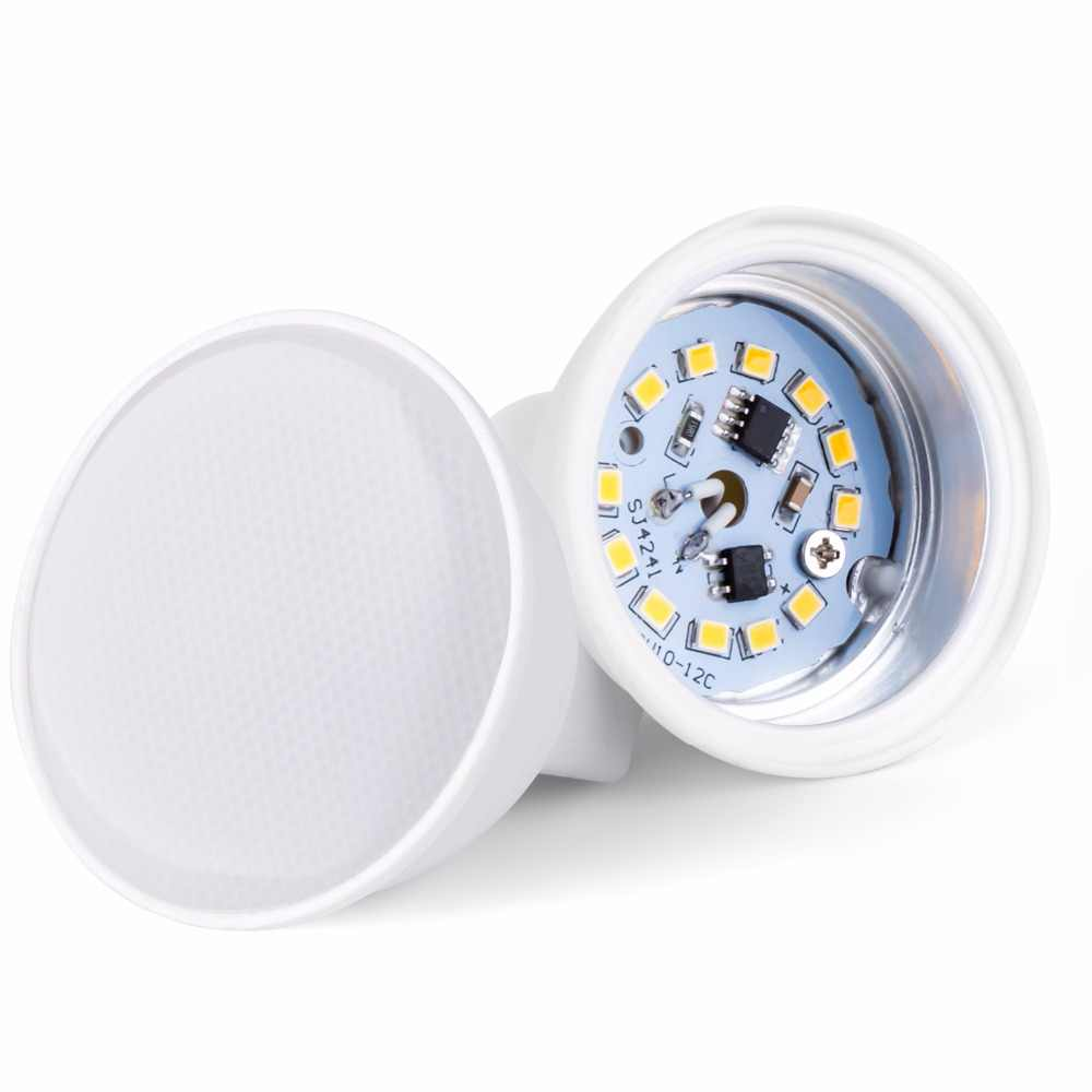 LED GU10 ספוט אור 220 v Bombillas Led נמוך צריכת שולחן מנורת 5 w 7 w MR16 LED זרקור הנורה SMD2835 להחליף הלוגן Led 240 v