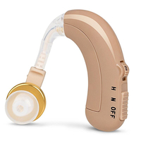 AXON C 109 Rechargeable BTE Hearing Aid Personal Sound Amplifier CE Certified O N H Switch