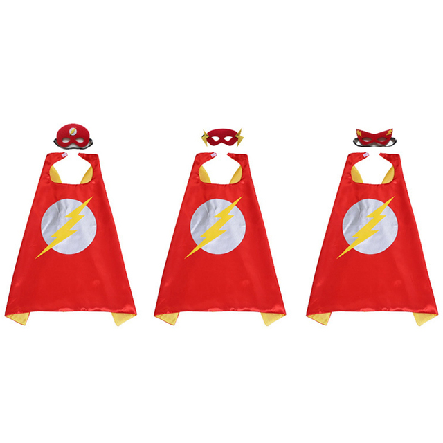 Halloween Capes And Mask for spiderman Superman Batman and more