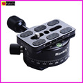 Manbily PC-360 Professional tripod heads Universal pan head with Fast mounting plate Stand for Canon Nikon DSLR DV camera