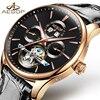 AESOP Brand Luxury Watch Men Automatic Mechanical Waterproof Wristwatch Male Clock Relogio Masculino Hodinky 2018 New
