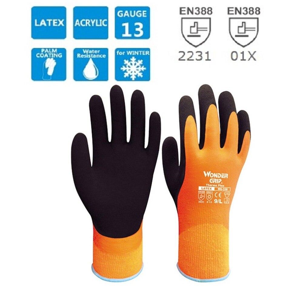 WG-338 Anti-cut Gloves Garden Warm Safety Glove Acrylic Anti Cold Thermal Gloves Waterproof Winter Cold Proof Work GlovesWG-338 Anti-cut Gloves Garden Warm Safety Glove Acrylic Anti Cold Thermal Gloves Waterproof Winter Cold Proof Work Gloves