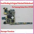 100% n7100 originais placa principal, europa versão desbloqueado para a samsung galaxy note 2 n7100 motherboard com batatas fritas, bom trabalho