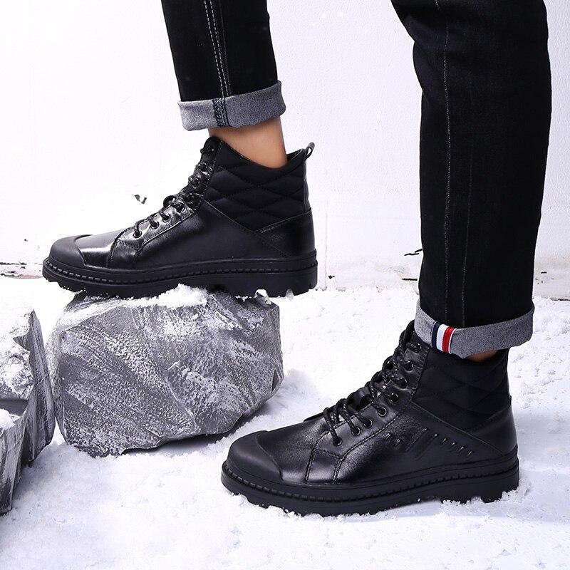 Militaire en cuir bottes pour hommes Combat bot D'infanterie tactique bottes Automne Martin Bottes Water Proof Hiver Cheville Bottes chaussures k5