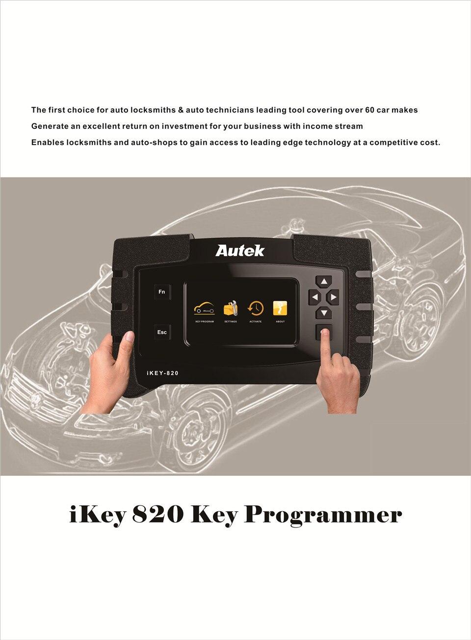 Autek IKey820 Key Programmer Catalogue-01