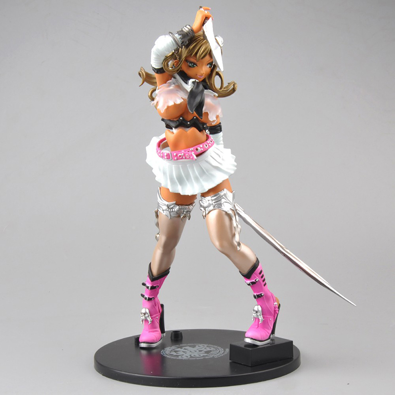 Sexy Anime Figures Sailor Moon Keumaya Final Hyper Nurse Pink Goat Daughter PVC VICTORY YUNO Toys for Collections high quality japan anime keumaya final hyper nurse commander erika pvc 9 sexy figure toys