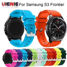 Drop shipping Xiniu Sports Silicone Bracelet Strap Band For Samsung Gear S3 Frontier High Quality Gift 22mm Watchbands Correa цена 2017