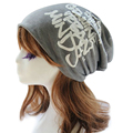 Casual Women Beanies Hats Spring Autumn Winter Fashion Letter Printed Hip-Hop Caps Lady Girls Cotton Skullies 5 Color bonnet