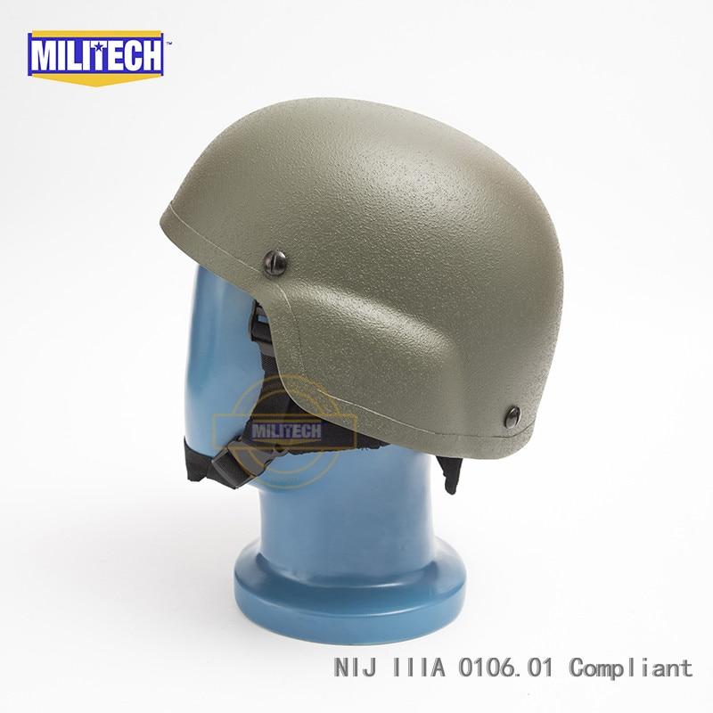 MILITECH OD NIJ IIIA 3A MICH kuulikindla kiivri aramiidi ACH - Turvalisus ja kaitse - Foto 2