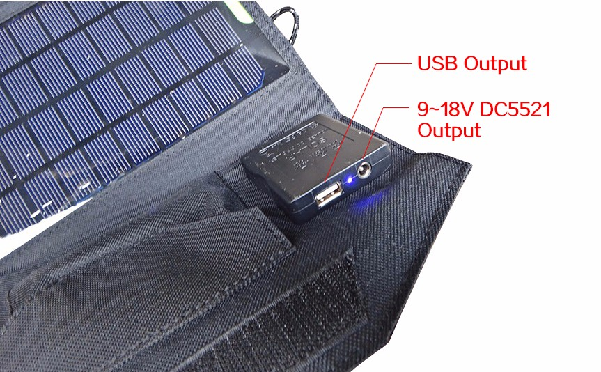 USB DC solar panel charger