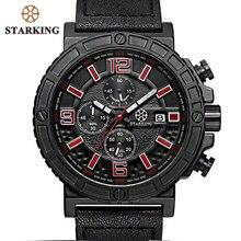 Старкинг Splendid оригинальный бренд Часы Relogio Для мужчин Роскошные модные Хронограф Открытый спортивные часы мужской Кварцевые hodinky panske