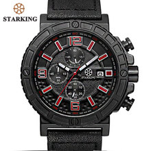 STARKING Splendid Original Brand Watches Relogio Men Luxury Fashion Chronograph Outdoor Sport Watch Male Quartz Hodinky Panske