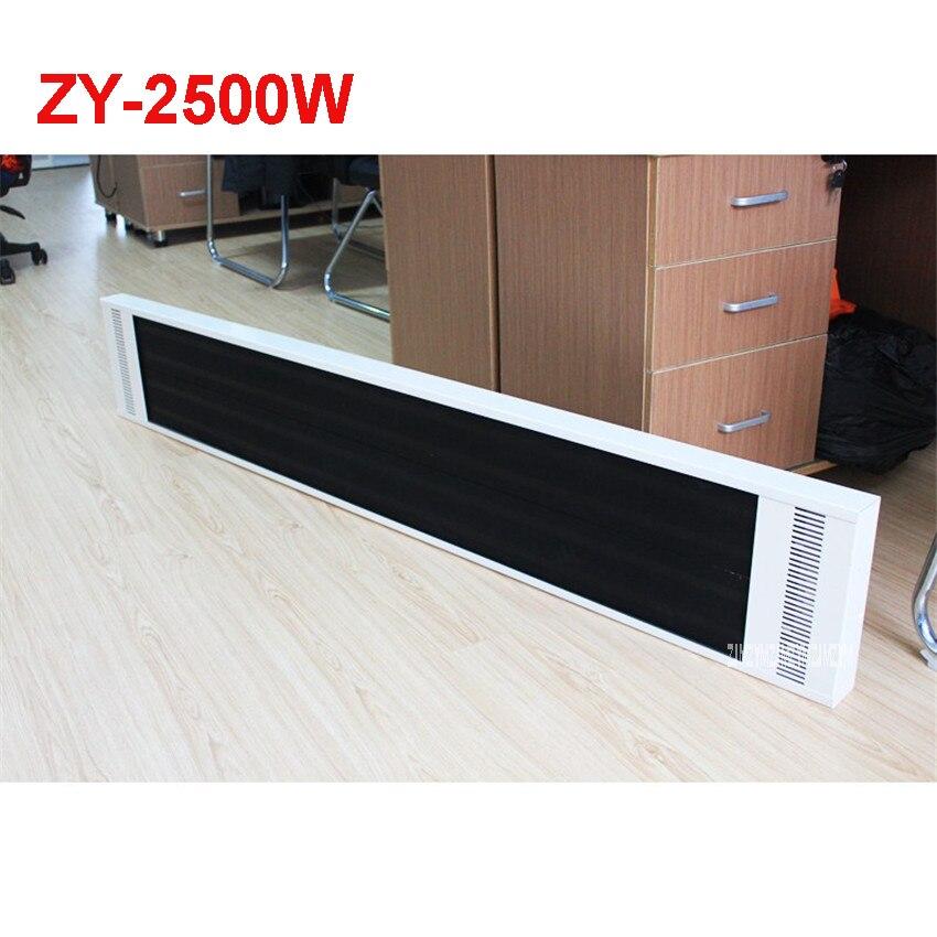 ZY 2500W электрический радиатор отопления Дальний инфракрасный нагреватель Электрический радиатор отопления инфракрасный обогреватель 2500 Вт