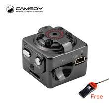 SQ8 Mini Camera 1080P 720P HD Kamera 12M Infrared Night Vision Micro