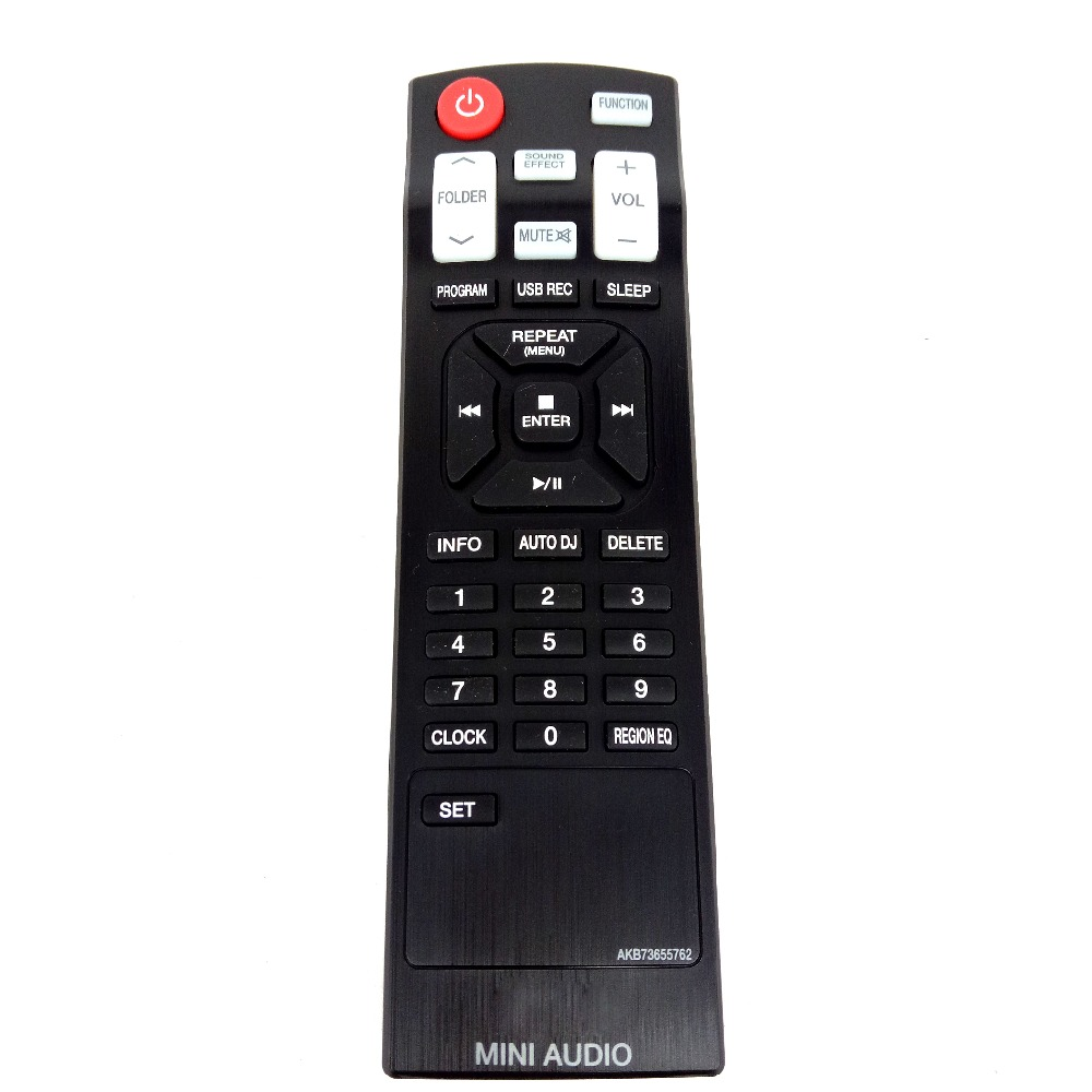Remote Control For LG CD Home Sound Bar Mini Audio System AKB73655762 Fernbedienung