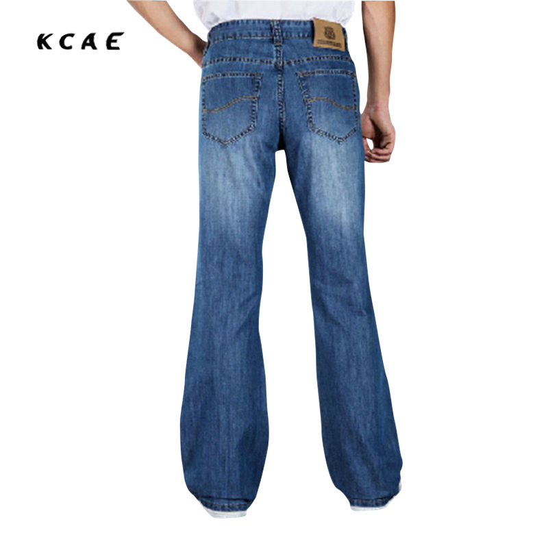 2015 Fashionable Casual Big Men Flare Pants jeans Male Loose Denim Long Trousers Sexy Cool Plus Size 28-38