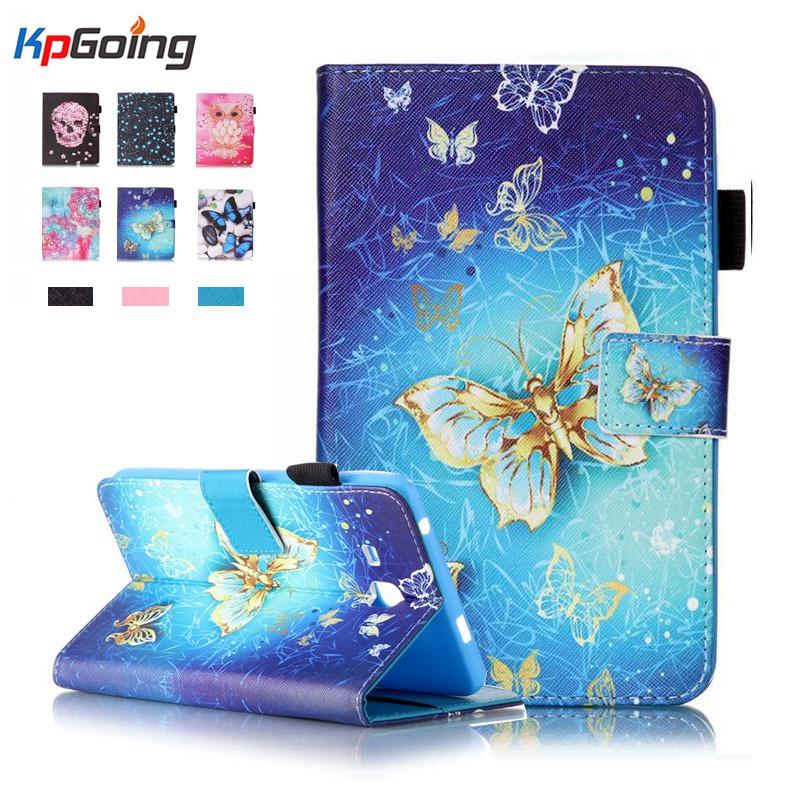 For Samsung Tab A6 7.0 2016 Leather Case for Samsung Galaxy Tab A 7.0 T280 T285 SM-T280 Cases Cover Tablet Fashion Funda Shell new listing luxury tablet shockproof case cover for samsung galaxy tab a a6 7 0 t280 t285 child fashion back cases stylus
