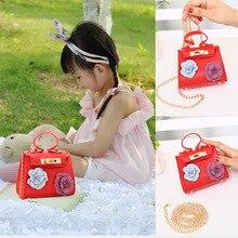 Raged Sheep Прекрасная Детская сумка на одно плечо кошелек для монет PU женский однотонный детский подарок для младенцев подарок на день рождения для маленьких девочек