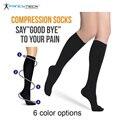 Hot Verkoop Afslanken Kousen Bloedsomloop Promotie Afslanken Compressie Sokken Anti-Vermoeidheid Comfortabele Effen Kleur Sokken