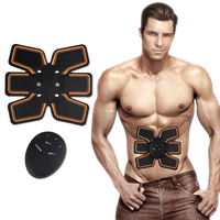 Smart EMS Wireless Electric Massager Abdominal Muscle Toner ABS Fit Muscle Stimulator Abdominal Muscles Trainer KXS