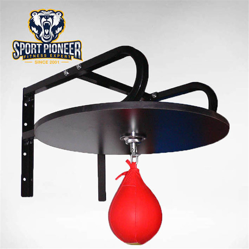 ФОТО High Quality Boxing Heavy Duty Adjustable Speed bag Platform Speedball with Swivel