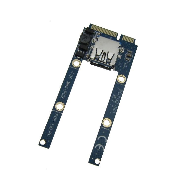 Mini PCIe till USB-adapter / omvandlare mini-kortstöd USB WiFi, - Datorkablar och kontakter - Foto 2