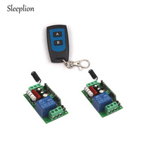 Sleeplion US AC 110V 1CH Channel Wireless RF Remote Control Switch Transmitter 2 Receiver