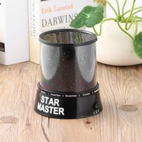2 PCS Night Romatic Gift Cosmos Star Sky Master Projector Starry Night Light Lamp