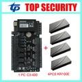 ZK c3-400 panel precio barato puerta de control de acceso sistema de control de acceso con TCP/IP comunicación y envío de software SDK