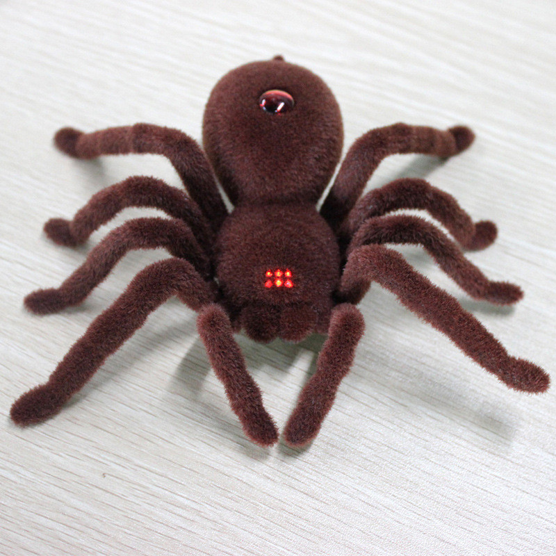 Infrared Remote Control Simulation spider RC Animals tricks joke Toy Funny Novelty gags Practical Jokes toys children kids fun
