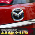 SUV Rear Electroplate m3 6 CX3 cx-5 cx-7 cx-9 emblem decoration CAR sticker axela atenza CX-3 cx5 cx7 cx9 car styling 1pcs