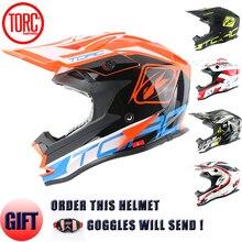 Nowe marki torc kask off road downhill motocross kaski motocyklowe zatwierdzone drogowe racing kask jakości motocykl kask t32