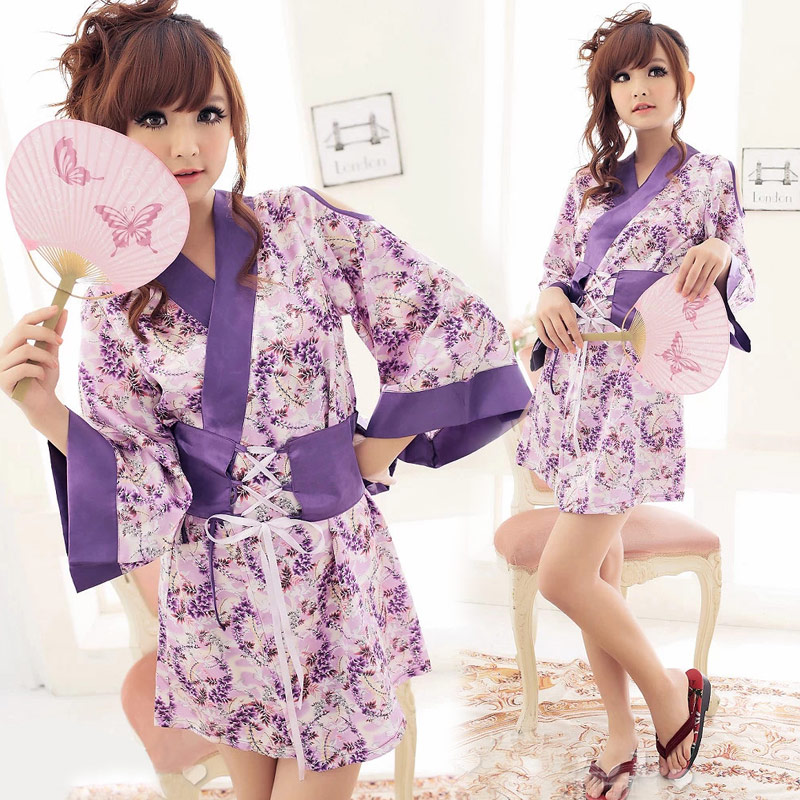 Traditional Japanese Kimonos Kimono Girl Japanese Kimono Traditional Yukata Women Kimono Mini Japanese Clothes in Babydolls Chemises from Novelty Special Use