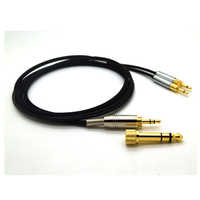 Cable for Sennheise Headphone HD700 HD 700 Headphones Replacement Audio Cable Cords 3.5mm to 6.35mm Jack