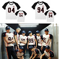 KPOP EXO Album LOVE ME RIGHT Tops T-shirt  Casual Women Tops Blusa Peplum Sehun Baekhyun Tao Luhan Kris