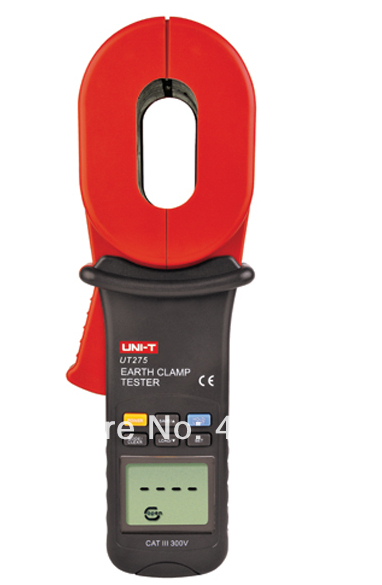 U-NIT New Released Item UT275 Clamp Earth Ground meter /Tester (0.01-1000;0-30A)