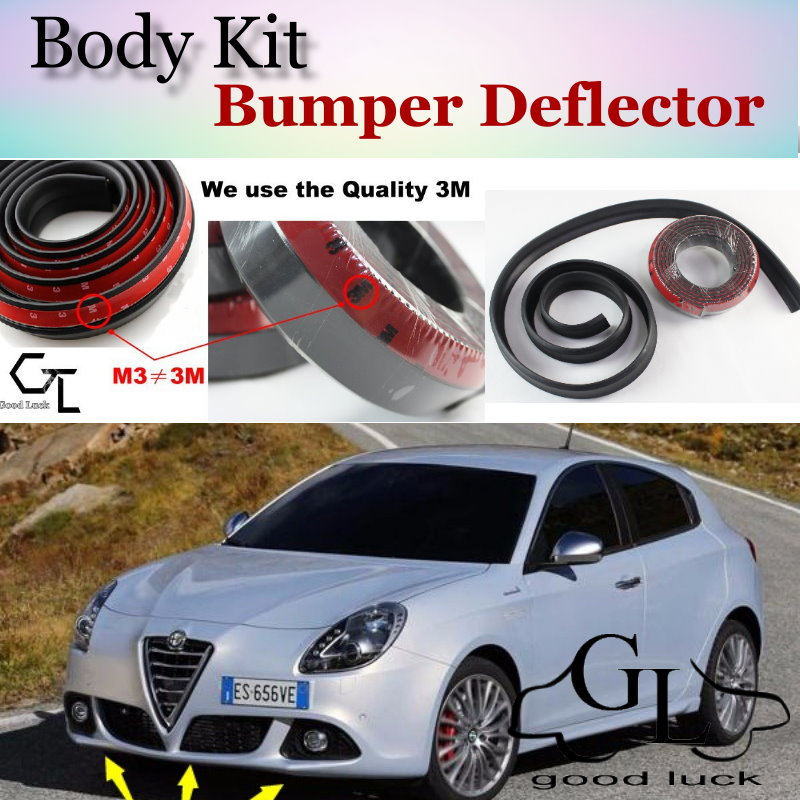 Bumper Lip Deflector Lips For Alfa Romeo Giulietta 940 AR