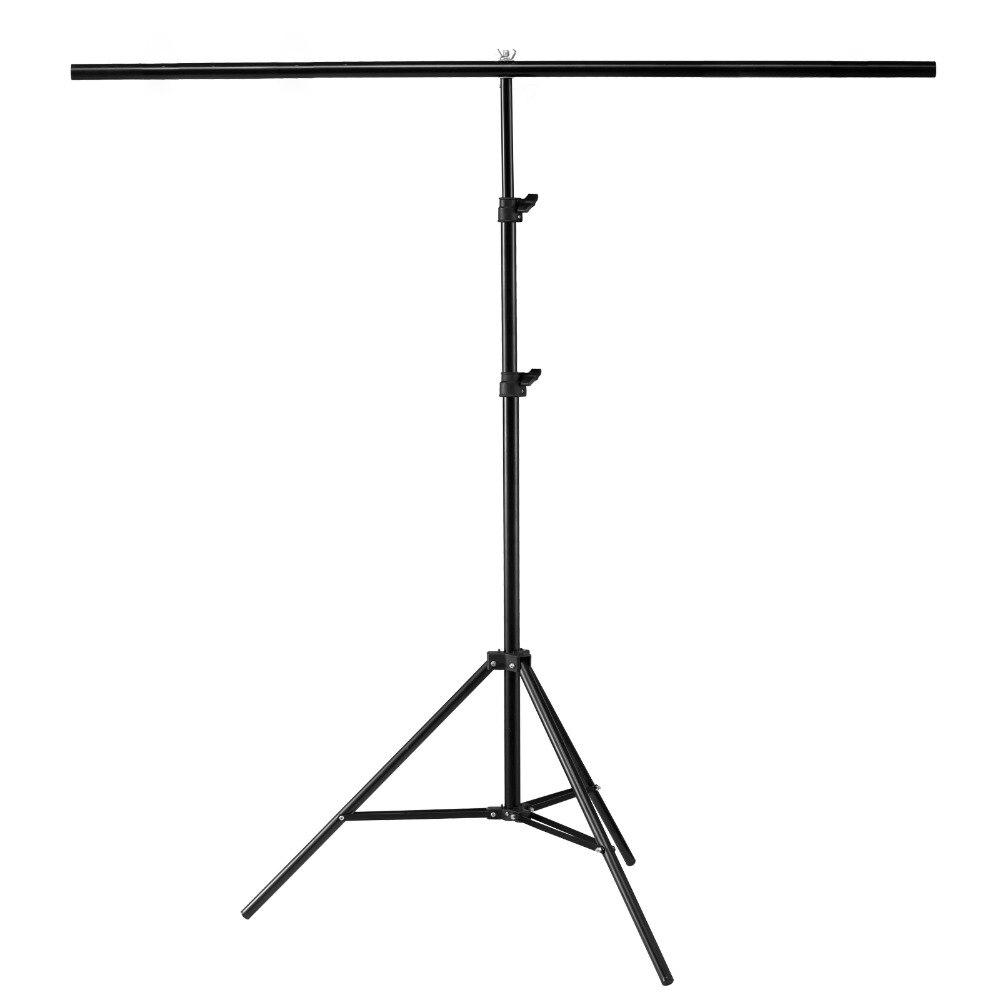 200X70 cm Backgrounf Trépied Photographie PVC Backdrop Soutien Stand Système de Toile De Fond En Métal Pour Photo Studio