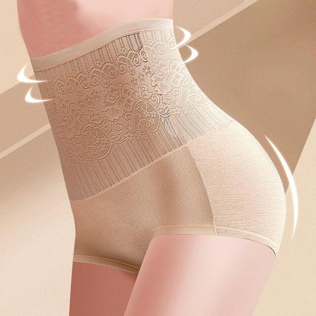 34c0370f93 High Waist Seamless Shaping Tummy Control Women Tights Underwear Women Body  Waist Slimming Shaping Hips Panties Shapewear Drop