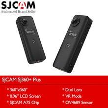"""Оригинальный SJCAM SJ360 плюс Wi-Fi 360 градусов VR панорама Камера 1080 P Full HD Двойной объектив 0.96 """"Экран Дистанционное управление мини видеокамера"""