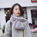 2017 New Fashion Autumn And Winter Faux Fur Soft Warm Solid Scarves Ladies Scarf Cachecol Bufandas Mujer echarpe #1201