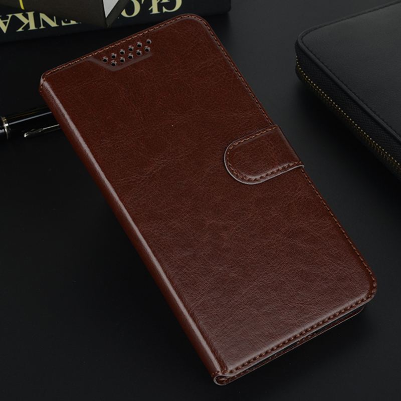 Book Phone Cases Cover for <font><b>Alcatel</b></font> One Touch Pop 4 5.0 5051 5051D Plus 5.5 <font><b>5056D</b></font> Flip Leather Case Fundas Wallet image