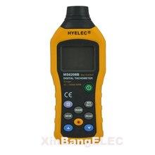 Бесконтактный цифровой тахометр ЖК-дисплей со стабильной производительностью 50 об/мин-99999 ОБ/мин Спидометр воздушного потока