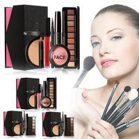Focallure 6 8pcs Makeup Set Contains Face Powder Blush Eyebrow Eyeliner Eyeshadow Volume Mascara Matte Lipstick