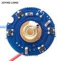 JYL9805 магнитно управляемый дальний фонарик привод PCB (использовать 1-2 шт 18650 литиевая батарея общего назначения) 25 мм печатная плата