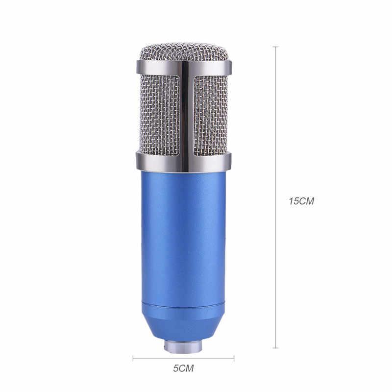 Профессиональный bm800 микрофон 3.5 мм проводной Конденсатор звук Запись караоке микрофон с подвесом для PC песни Запись